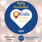 What's On 4 Kids Game Changing Supplier, 2020 - Highly Commended
