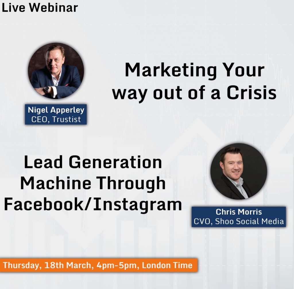 Marketing your way out of a crisis