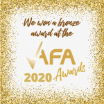 Approved Franchise Association Supplier of the Year, 2020 - Bronze